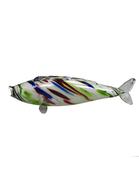 Vintage vis  muranoglas groot