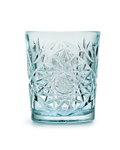 Tumbler glas set van 6 st blue