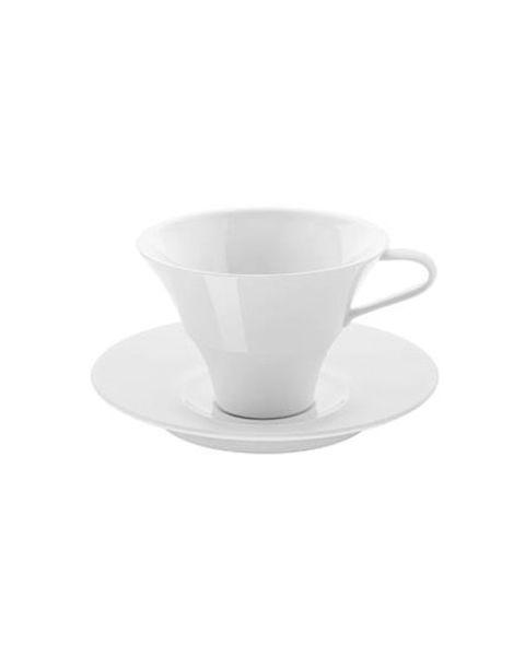 Koffiekop en -schotel Velvet