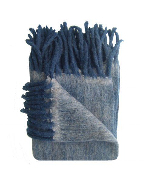 Plaid visgraat wol