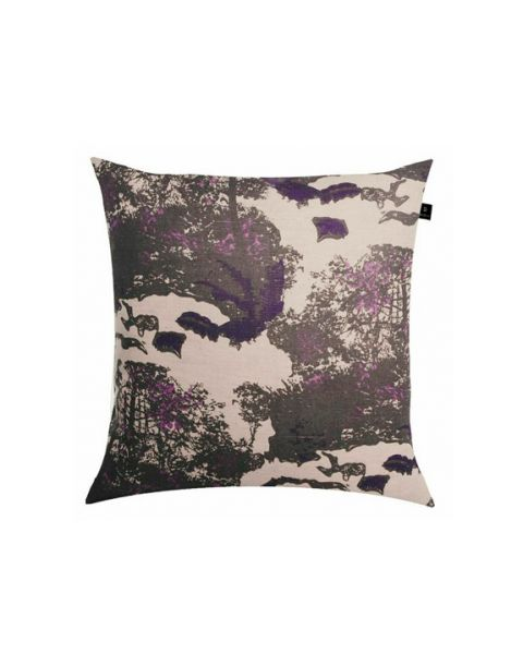 Forest purple kussen