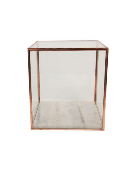 Showcase square copper