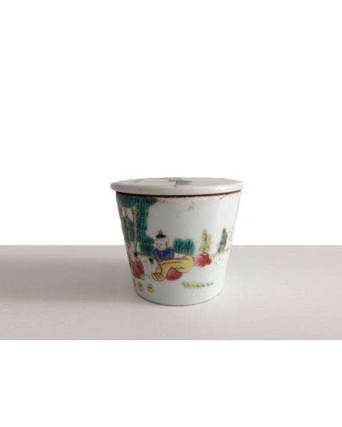 Vintage Chinese storage jar 1