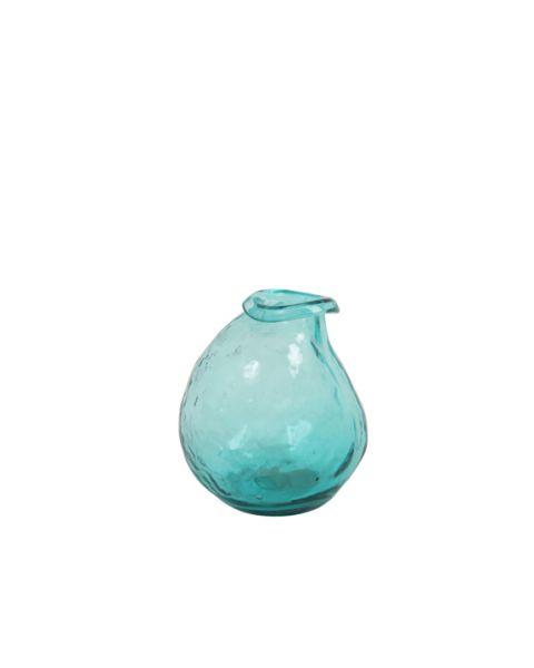 Vase imperfect turquoise