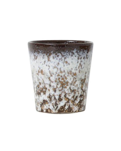 Ceramic 70's mok mud