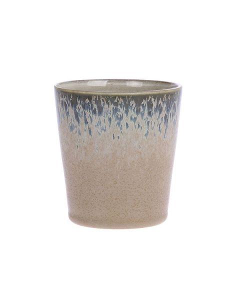 Ceramic 70's mok bark
