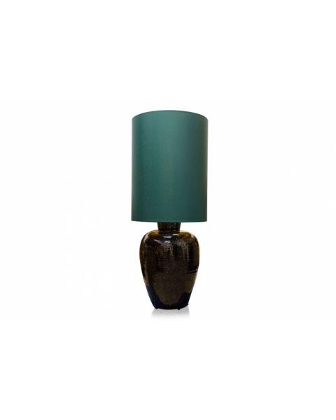 Vaaslamp antiek medium green