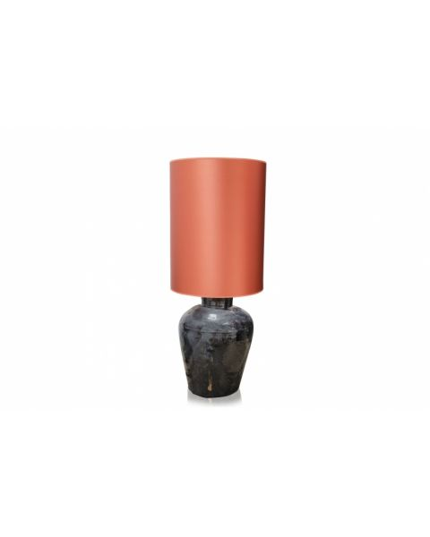 Vaaslamp antiek medium orange