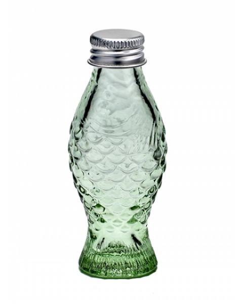 Flesje met stop Paole Navone groen glas