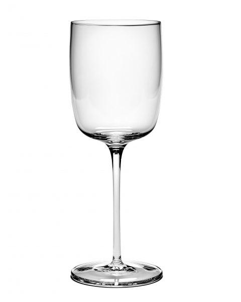 Passepartout rode wijnglas recht by Vincent van Duijsen