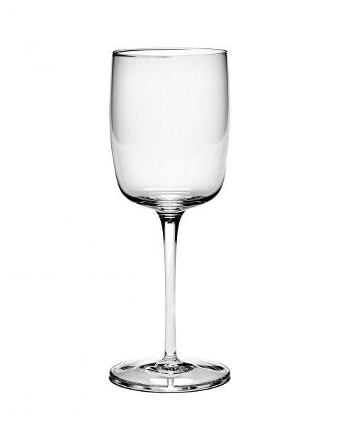 Passepartout witte wijnglas recht by Vincent van Duijsen