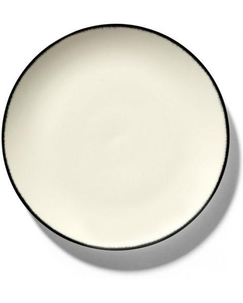 Dé Tableware by Ann Demeulemeester - Ontbijtbord Variatie 1 - Ø24 - 2 stuks