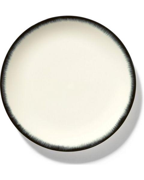 Dé Tableware by Ann Demeulemeester - Ontbijtbord Variatie 3 - Ø24 - 2 stuks