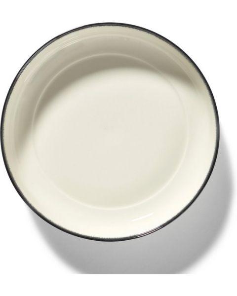 Dé Tableware by Ann Demeulemeester - Diep bord Variatie A - Ø24 - 2 stuks