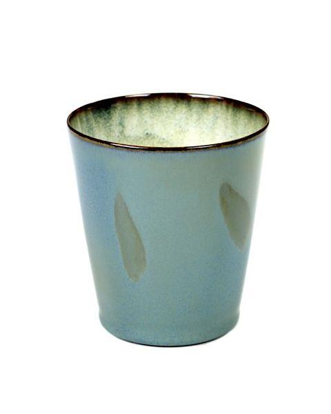 Beker M conisch smokeyblue 9,5 cm
