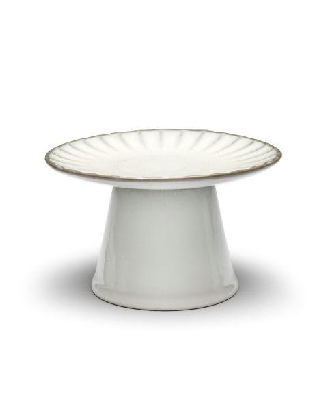 Taartschaal S wit Inku Sergio Herman
