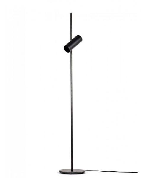 Sofisticato vloerlamp nr. 15 blauwstaal