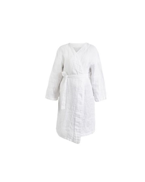 Fresh laundry kimono white