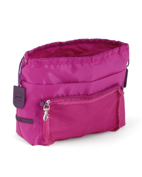 Bag in bag travel fuchsia