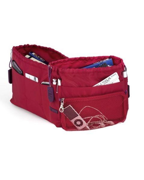 Bag in bag travel rouge