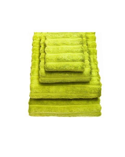 Bambussa handdoek lime