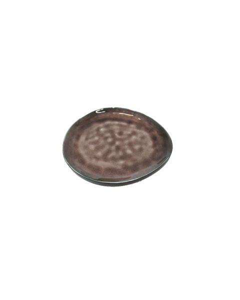 Ovaal bord small Pure bruin