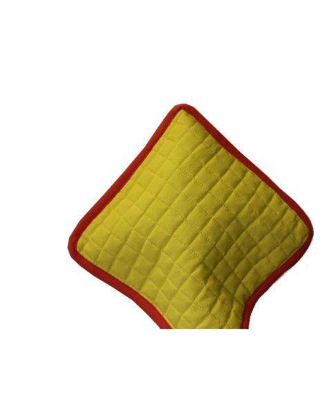 Pannenlap carré set van 2