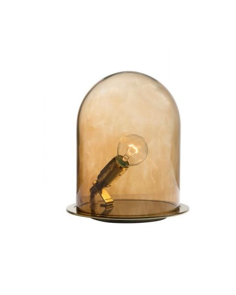 Glow in a dome lamp chestnut brown