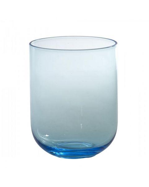 Drinkglas modern blauw