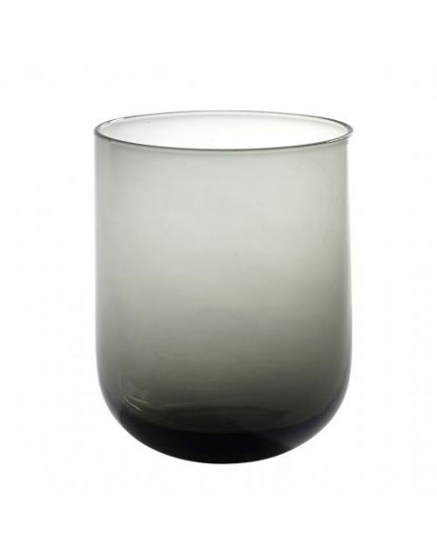 Drinkglas modern grijs
