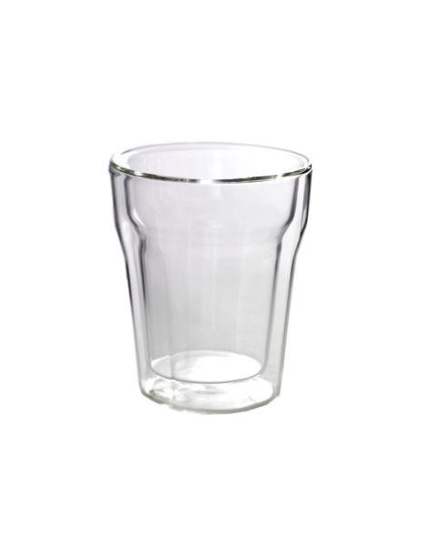 Dubbelwandige glasbeker
