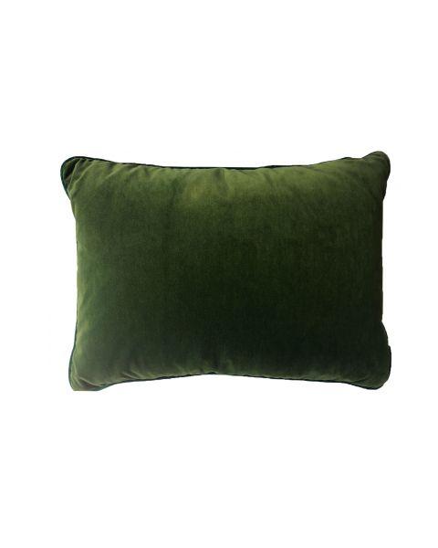 Kussen A&E Originals groen velvet