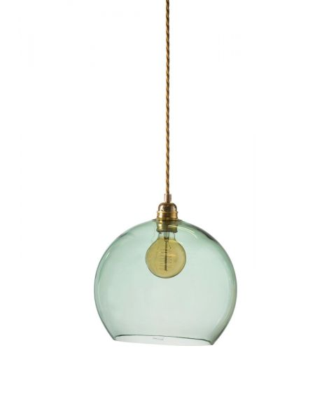 Bollamp glas forest green