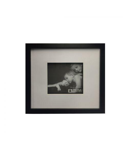 Fotolijst zwart 24x24 cm