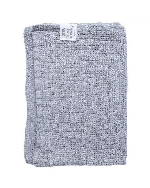 Fresh laundry handdoek silver