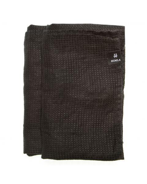 Fresh laundry handdoek black