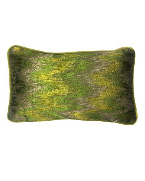 A&E Originals kussen zigzag green