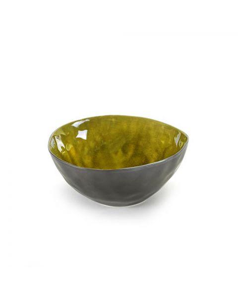Schaaltje Pure 16 cm groen