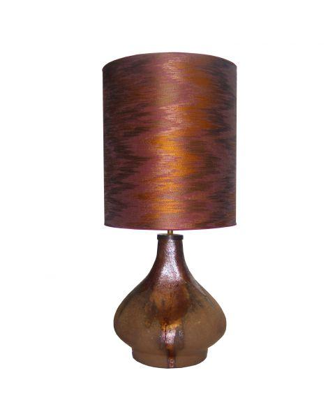 Tafellamp vintage Aubergine Satin