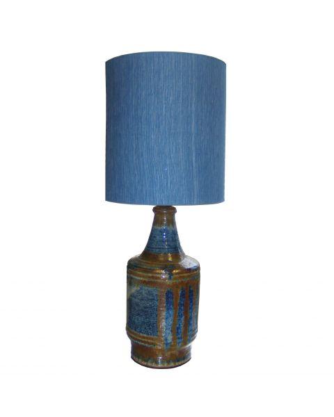 Tafellamp vintage Blue Ceramic