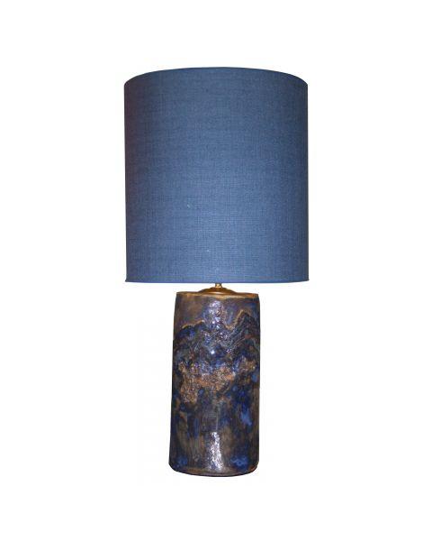 Tafellamp vintage Denim Blue