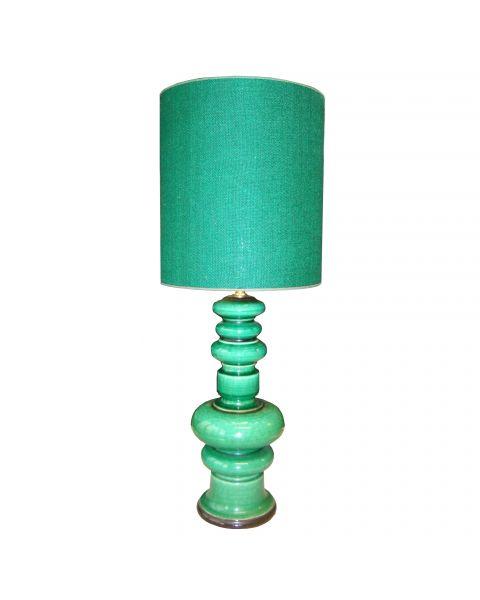 Tafellamp vintage Emerald Green