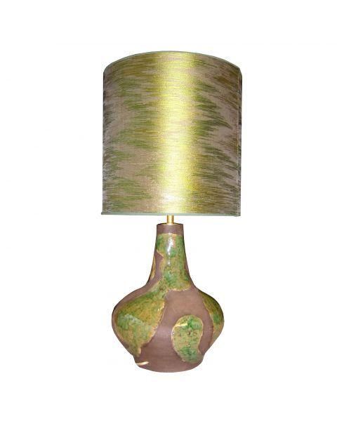 Tafellamp vintage Green Satin