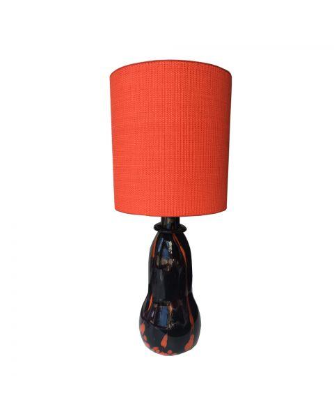 Tafellamp vintage oranje