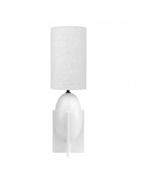 Ovo lamp large wit