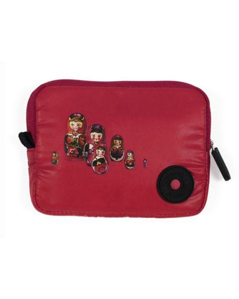 Portemonnee babushka rouge