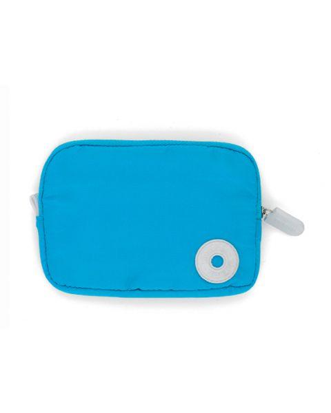 Portemonnee fluo blue