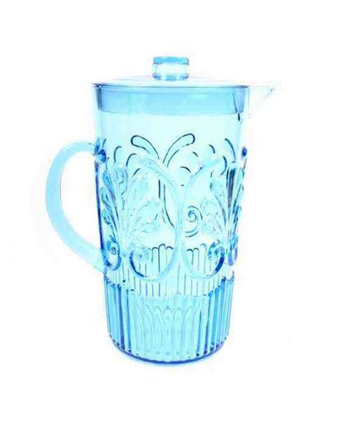 Kunststof waterkan Lis blue