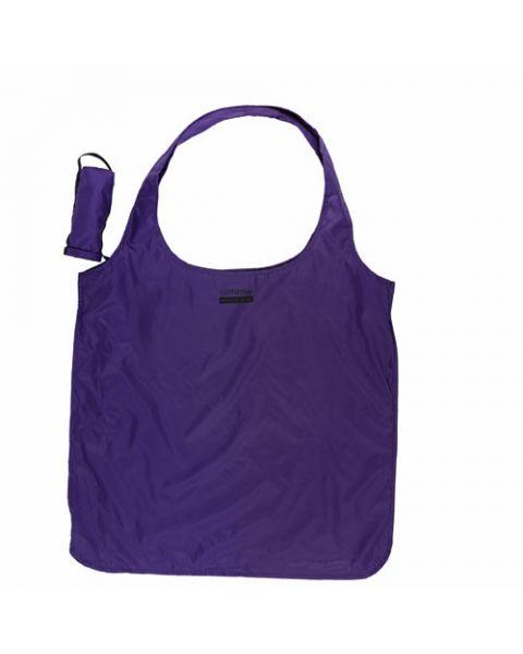 Opvouwbare tas violet