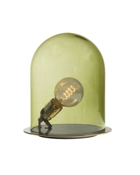 Glow in a dome lamp olive